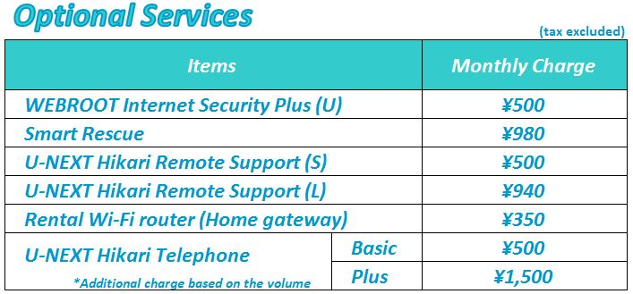 Optional Services2