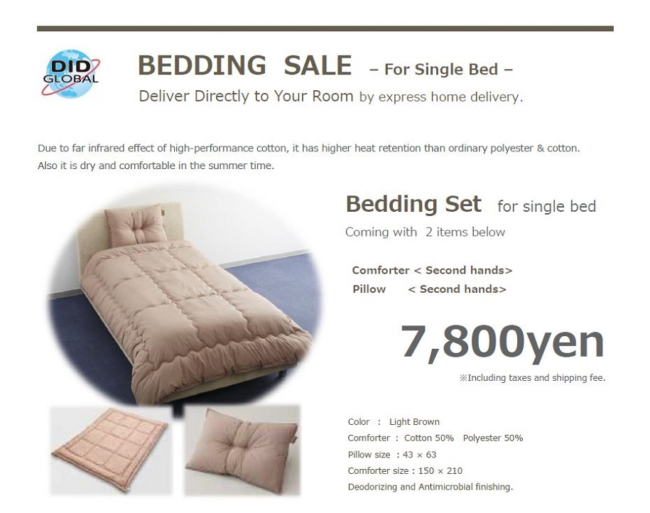 Bedding sale-Single