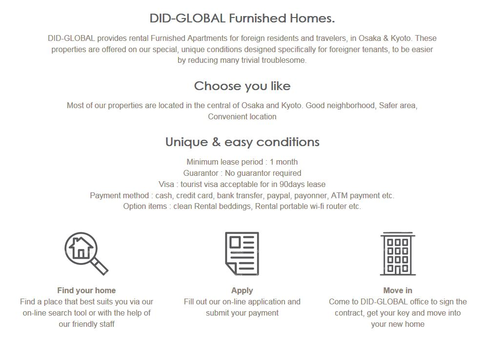 DID-GLOBAL Furnished Homes